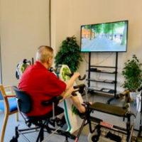 Aktivitetscykling til plejehjem