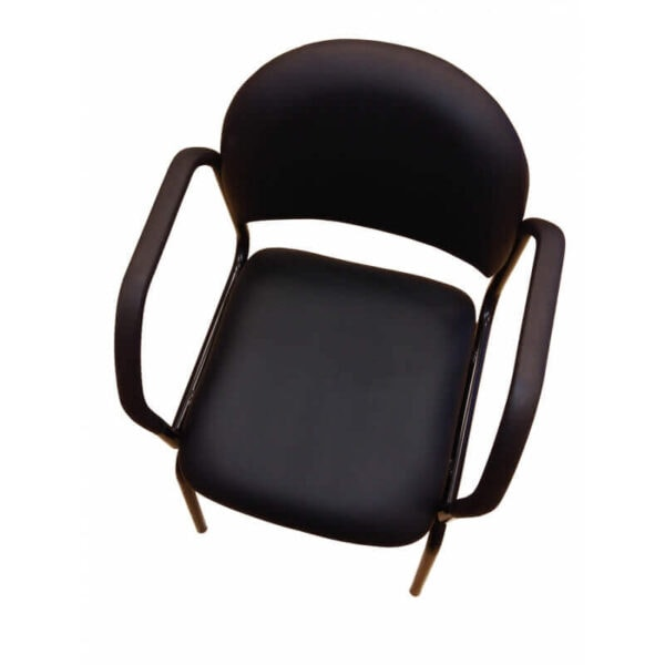 Seniorvenlig stol lemco smartstol spisebordsstol med armlæn