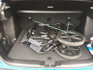 Transportkørestol til bil