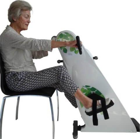 traeningscykel til stol hjemmetraening / Genoptræning