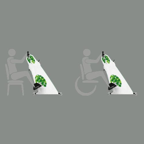 Mobilitetstraenere til stol og koerestol