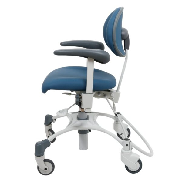 VELA stol Medium træningsstol med bremse afspritbar-venstre