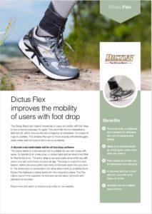 Dictus Flex Productsheet
