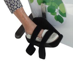 Pedaler med Velcro til motionscykel
